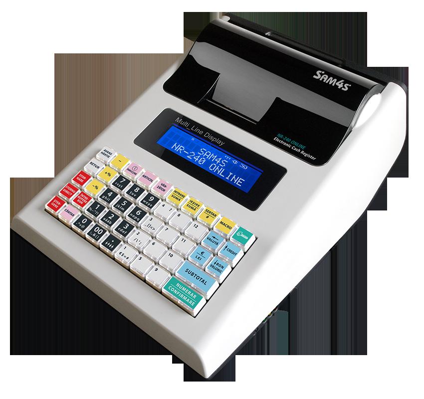 Casa De Marcat SAM4S NR-240 cu jurnal electronic 2018