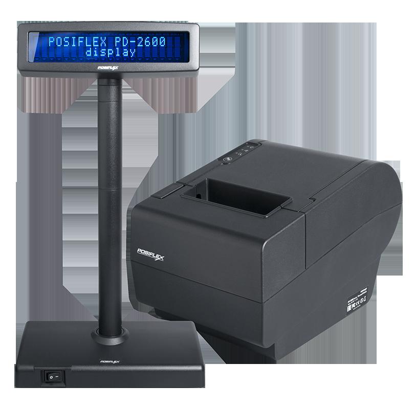 Casa de marcat cu tastatura virtuala Posiflex Aura 8900